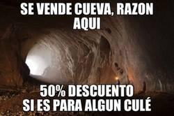 Enlace a Cueva en oferta para gente del Barça