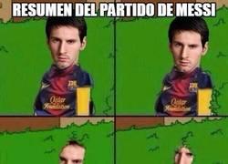 Enlace a Sin rastro de Messi