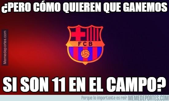837375 - El Barça ha echado de menos al árbitro