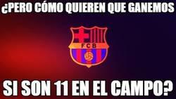 Enlace a El Barça ha echado de menos al árbitro