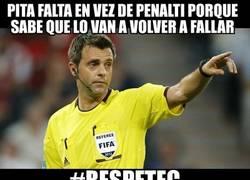 Enlace a El árbitro del Atleti-Barça lo tenía todo bajo control