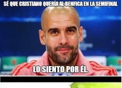 Enlace a Guardiola se acuerda de Cristiano