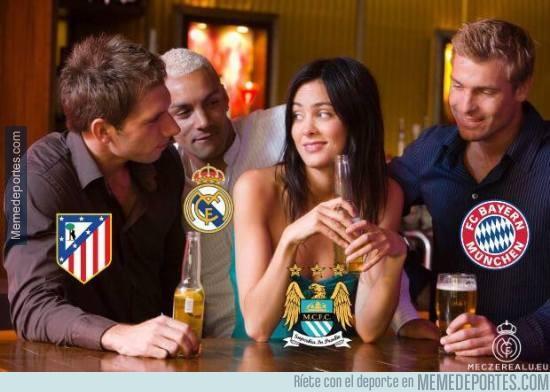 838370 - En Champions League no hay dudas de a quién quieren que les toque en semifinales
