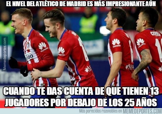 838441 - El nivel del Atlético de Madrid es más impresionante aún sabiendo esto