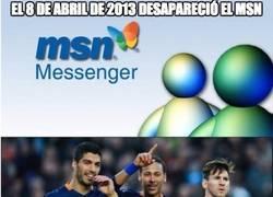 Enlace a El 8 de abril de 2013 desapareció el MSN
