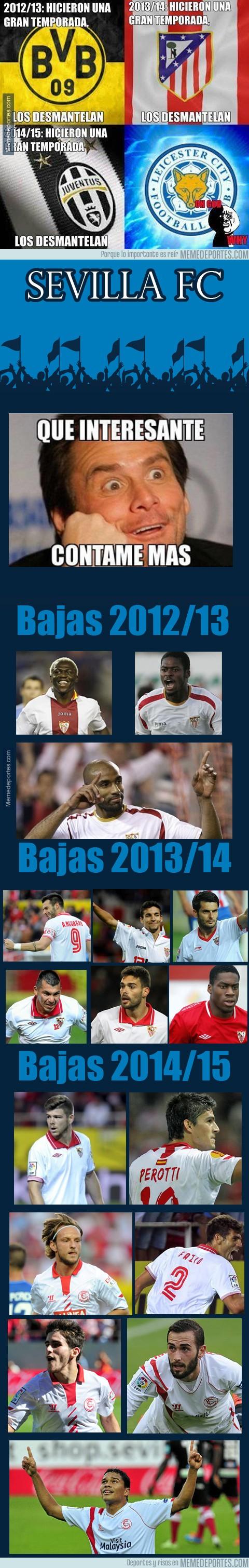 839129 - Al Sevilla FC no le impresiona