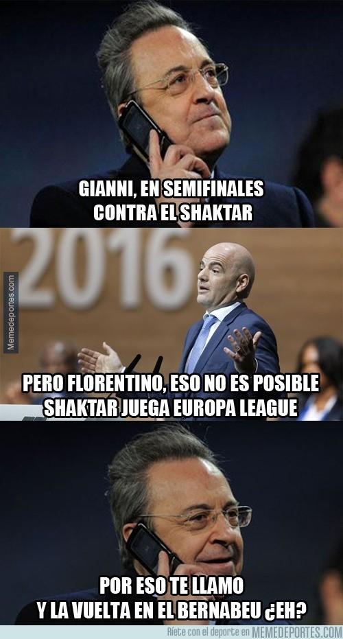 839145 - Florentino no quiere problemas en semifinales