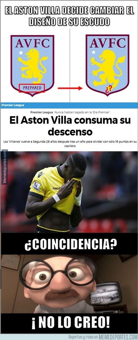 840187 - El curioso caso del Aston Villa. ¿Coincidencia?