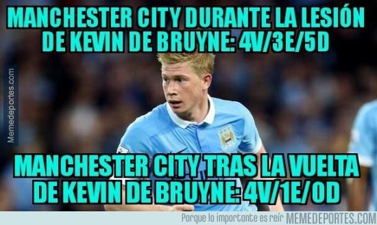 840443 - De Bruyne es la pieza clave del City