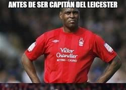 Enlace a Curiosidad del capitán del Leicester