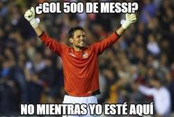 Enlace a Messi tiene un muro en frente
