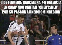 Enlace a Rodrigo se la devuelve a todo el Camp Nou