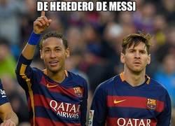 Enlace a Como Neymar siga a este paso...