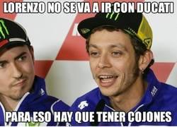 Enlace a Lorenzo le ha callado la boca a Rossi
