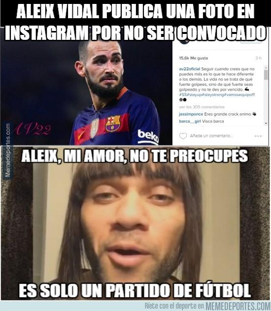 842787 - Aleix Vidal y su mensaje en Instagram