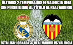 Enlace a ultimas 2 temporadas el valencia deja sin posibilidad al titulo al Real Madrid