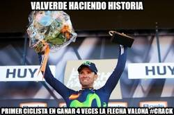 Enlace a Valverde haciendo historia