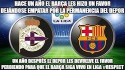 Enlace a El Depor le debía una al Barça