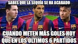 Enlace a El Barça se ensaña contra el Depor