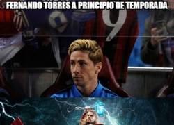 Enlace a Fernando Torres lleva 5 goles en las últimas 5 jornadas... Está a un nivel de Semidios