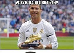 Enlace a ¿Cristiano bota de oro 2015/16?