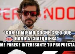 Enlace a Ecclestone escucha a Fernando