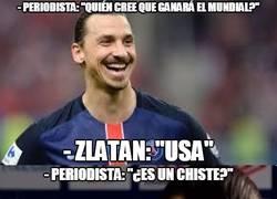 Enlace a Zlatan marcándose un Zlatan