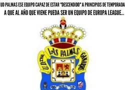 Enlace a Ojito con la UD Las Palmas, que puede dar la sorpresa de la temporada