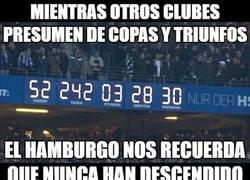 Enlace a Hamburgo nos recuerda el tiempo que lleva en la Bundesliga