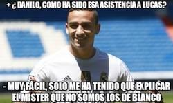 Enlace a Danilo nos explica su asistencia a Lucas Vázquez