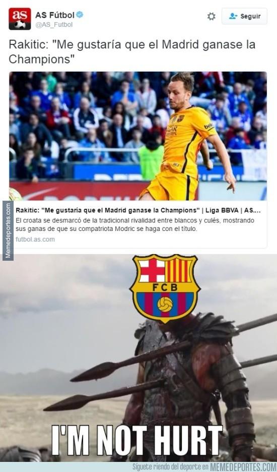 844268 - Ojo a las declaraciones de Ivan Rakitic acerca del Real Madrid y la Champions