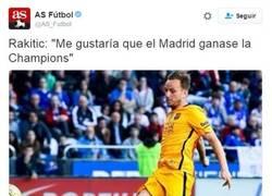 Enlace a Ojo a las declaraciones de Ivan Rakitic acerca del Real Madrid y la Champions
