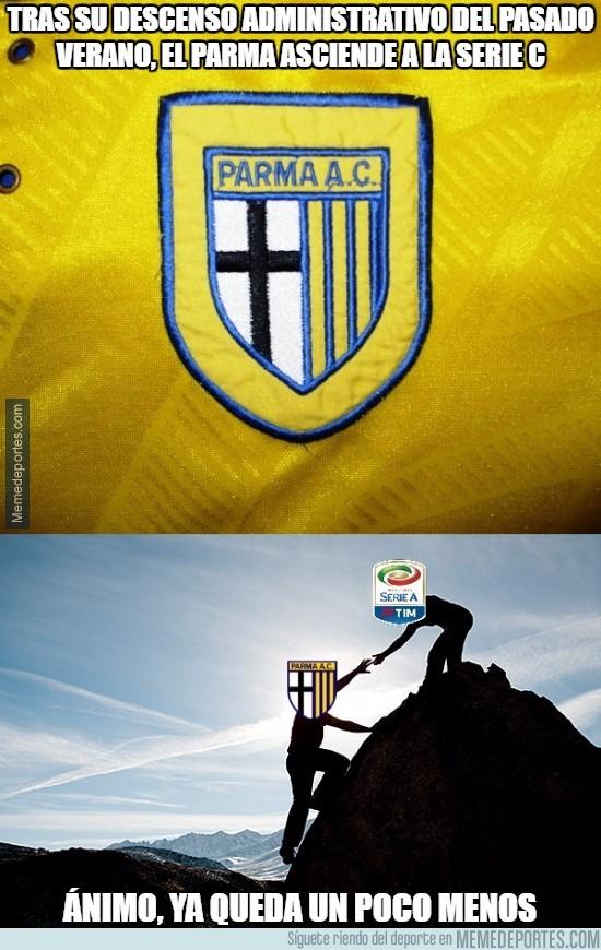 845329 - Tras su descenso administrativo del pasado verano, el Parma asciende a la Serie C