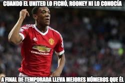 Enlace a Martial se la devuelve a Rooney
