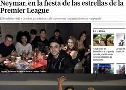 Enlace a Neymar sigue de fiesta en fiesta