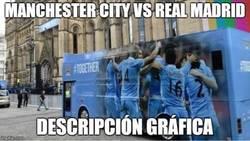 Enlace a El City con el bus y esperando la contra
