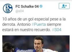 Enlace a Hay equipos que tienen deportividad, y luego está el Schalke 04