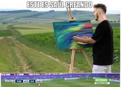 Enlace a Saúl Ñiguez, el artista incomprendido