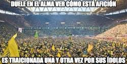 Enlace a Los aficionados del Borussia Dortmund no se lo merecen