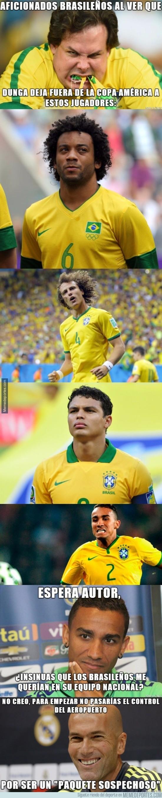 847509 - Jugadores que deja Dunga fuera de la Copa América