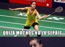Enlace a Carolina Marín, campeona de Europa de bádminton