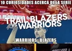 Enlace a 10 curiosidades de la serie Warriors-Trail Blazers