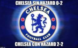 Enlace a El Chelsea es otro con Hazard