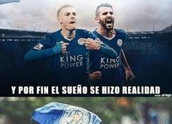 Enlace a El Leicester City campeón de la Premier League, ¡Felicidades foxes!