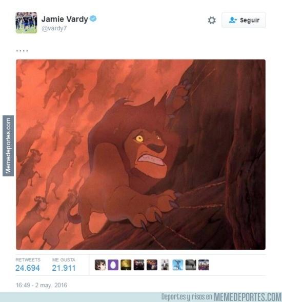 849595 - ¡EL ZASCA DEL AÑO! Jamie Vardy la rompió en Twitter, la indirecta a Harry Kane