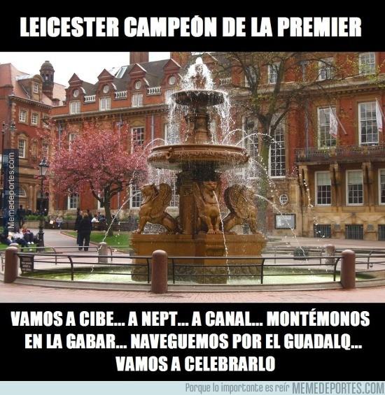 849644 - Vámonos a Cibe... a Nep... ¿Dónde celebra los títulos el Leicester?