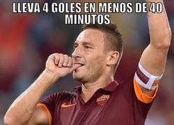 Enlace a Impresionante lo de Totti