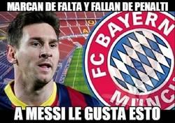 Enlace a Messi aprueba lo que hace el Bayern