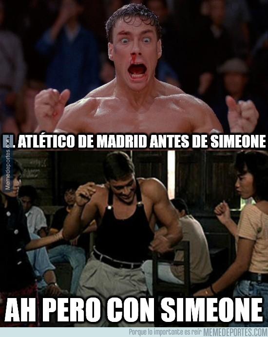850469 - El Atlético con Simeone es otra historia