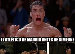 Enlace a El Atlético con Simeone es otra historia